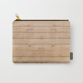 Wood plank pattern Carry-All Pouch