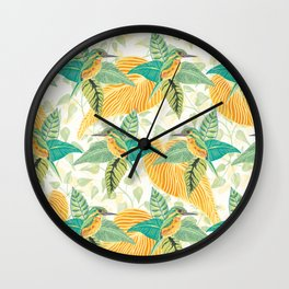 KINGFISHERS PARTY #2 Wall Clock
