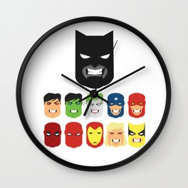 Friends - Dark Wall Clock