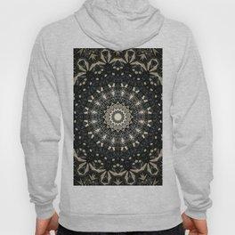 Decorative Black Ink Bohemian Mandala Hoody