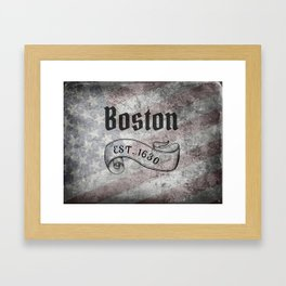 Boston, MA Framed Art Print