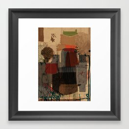 unfolded 21 Framed Art Print