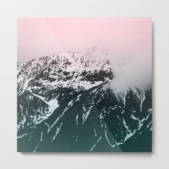 Mountains last forever Metal Print
