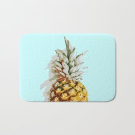 Summer Pineapple Bath Mat