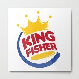 Burger King Fisher Metal Print