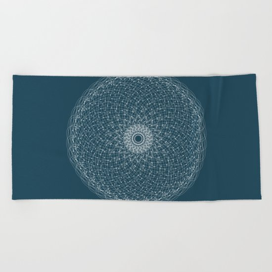 Ornament – Blossomsphere Beach Towel