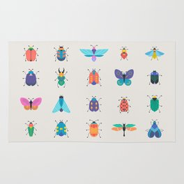 Bugs and insects Rug