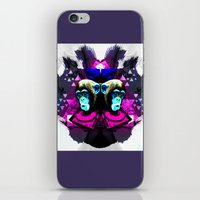 planet of the apes iPhone & iPod Skins featuring Crazy Apes by Jacob Overway