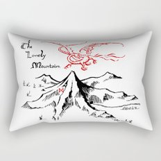Smaug and The Lonely Mountain Rectangular Pillow