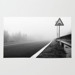 Attention to guardrail Rug