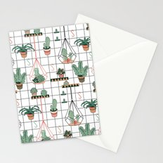 Modern Succulents Stationery Cards