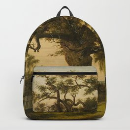 The Charter Oak - Connecticut by Charles De Wolf Brownell Backpack