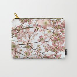 Floral Canopy Carry-All Pouch