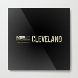 Black Flag: Cleveland Metal Print