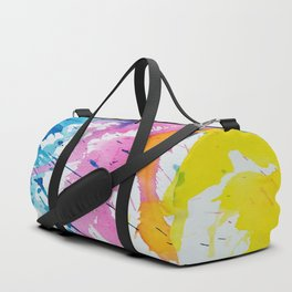 New Age Abstract Duffle Bag