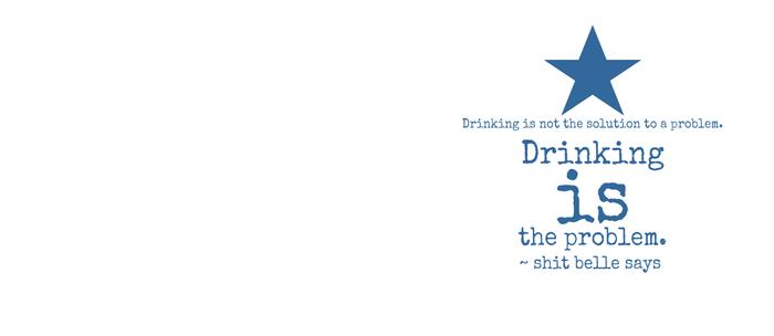 Drinking is the Problem. Coffee Mug