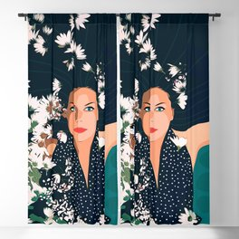 Drowning in Love Blackout Curtain