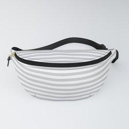 Simple stripes grey. Marine theme Fanny Pack