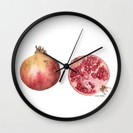 pome·gran·ate Wall Clock