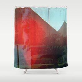 Egyptian Pyramids Shower Curtain