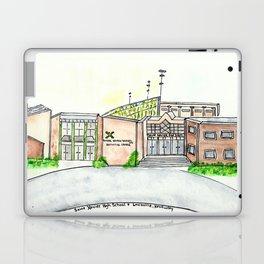Saint Xavier High School, Louisville, KY. Watercolor Laptop & iPad Skin