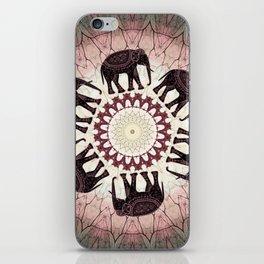 Boho Elephants iPhone Skin