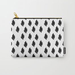 Falling for you black and white pattern Carry-All Pouch