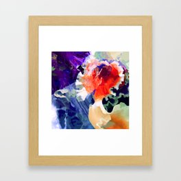 The Bride is Beautiful Framed Art Print
