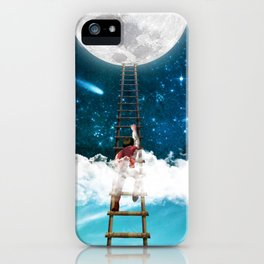 Reach for the Moon v2 iPhone Case