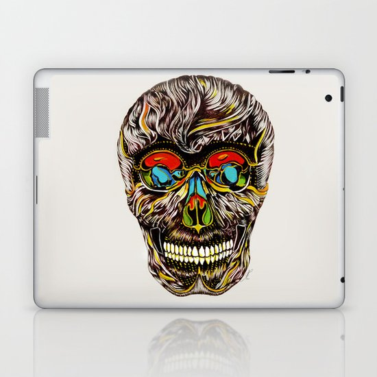 Colorful Skull Laptop & iPad Skin