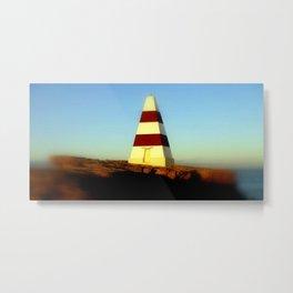 Obelisk on Cape Dombey Metal Print