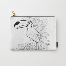 Brazilian Toucan Carry-All Pouch
