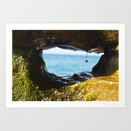 Just a Drop Art Print
