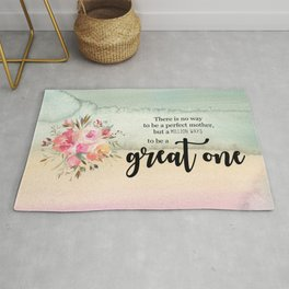Great one | Mother's day gift Rug