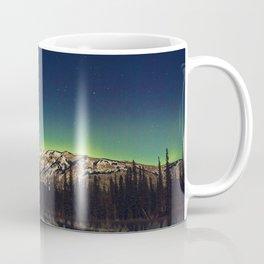 Northern Lights Mountain Coffee Mug