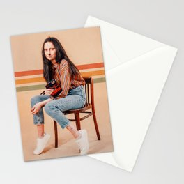 RETRO MONA Stationery Cards