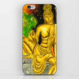 Sri Lankan Statue iPhone Skin