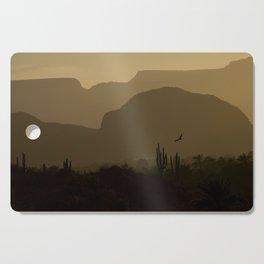 Californian desert Cutting Board