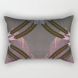 Wings of Ma'at Starlight Rectangular Pillow