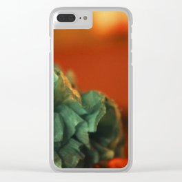 Paper florwers Clear iPhone Case