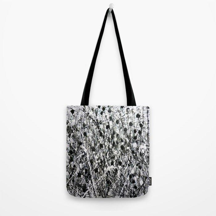 little black Tote Bag