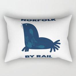 Norfolk By Rail Rectangular Pillow