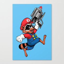 Super Rocket Canvas Print