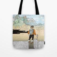 Backyard Adventure Tote Bag