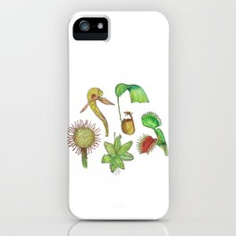 Carnivorous Plant Collection iPhone Case