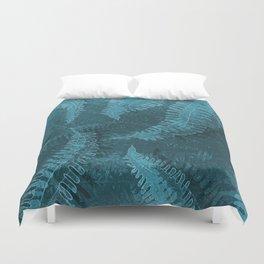Ferns (light) abstract design Duvet Cover