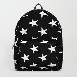 STARS & DOTS (BLACK-WHITE) Backpack