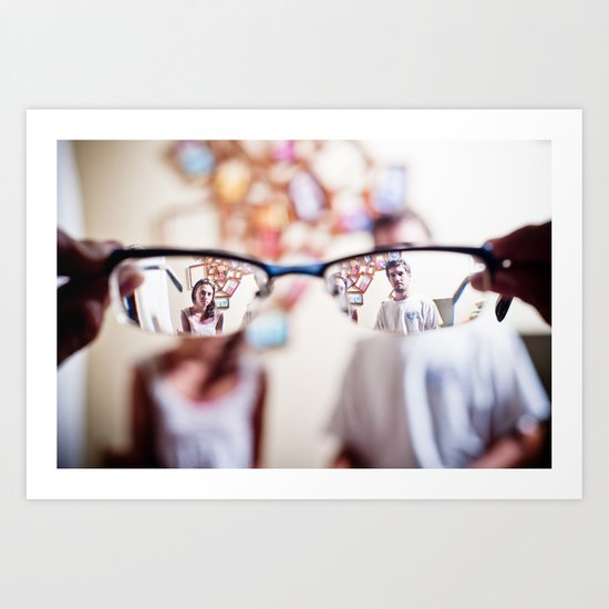 four eyes Art Print