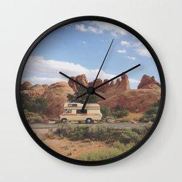 Rock Camper Wall Clock