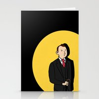 tintin Stationery Cards featuring Tintin style Mycroft by thediogenes